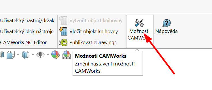 Technický tip CAMWorks – Rozpoznání konkrétních útvarů