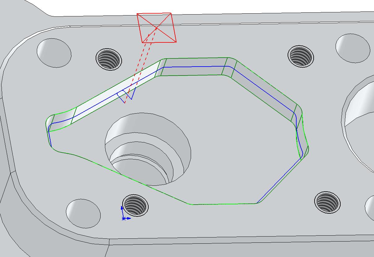 Technický tip CAMWorks – Spuštění simulace s předchozím výsledkem