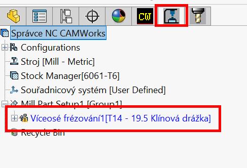 Technický tip CAMWorks – Obrábění ve stínu pomocí Více-osé operace
