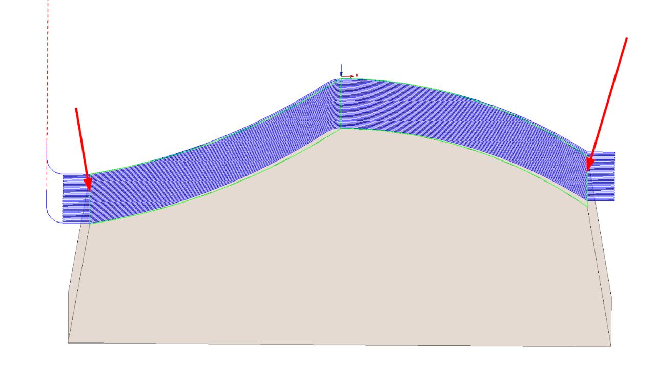 Technický tip CAMWorks – Protažení dráhy u operace Průmět vzoru