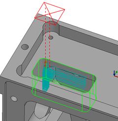 Technický tip – Nastavení zbytkového obrábění v 2.5osé hrubovací operaci