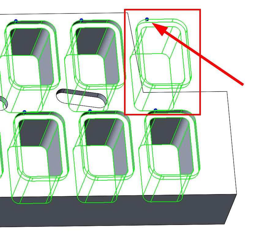 Technický tip CAMWorks – Lineární a kruhové pole