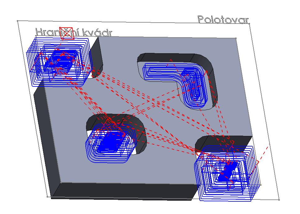 Technický tip CAMWorks – Automatická omezující plocha